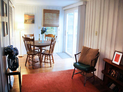 Enjoy a board game here - 23 Ginger Plum Lane Harwich Port Cape Cod - New England Vacation Rentals