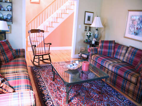 Full view of 2nd living area off hall- 29 Ginger Plum Lane Harwich Port Cape Cod - New England Vacation Rentals