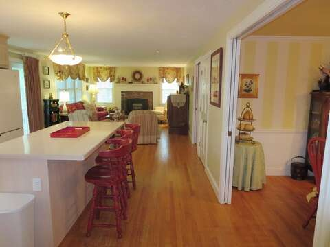 Open living concept- 29 Ginger Plum Lane Harwich Port Cape Cod - New England Vacation Rentals