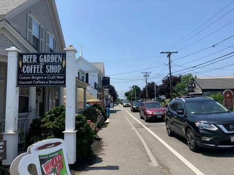 Beer Garden and Coffee Shop- Harwich Port Cape Cod - New England Vacation Rentals