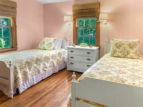 Bedroom 2 with 2 Twin beds (will have a window AC unit) - 23 Ginger Plum Lane Harwich Port Cape Cod - New England Vacation Rentals