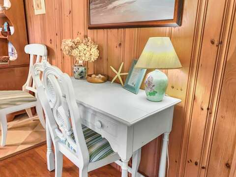 Remote work or learn at-23 Ginger Plum Lane Harwich Port Cape Cod - New England Vacation Rentals