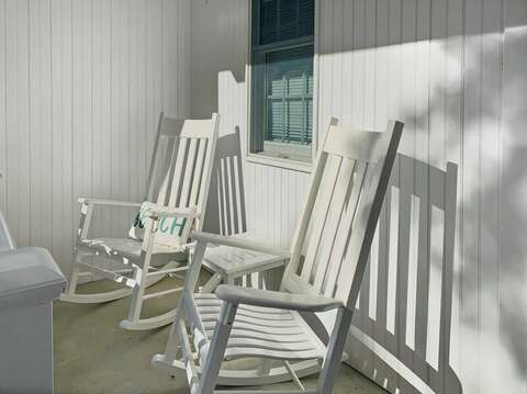 Rock your cares away at -29 Ginger Plum Lane Harwich Port Cape Cod - New England Vacation Rentals