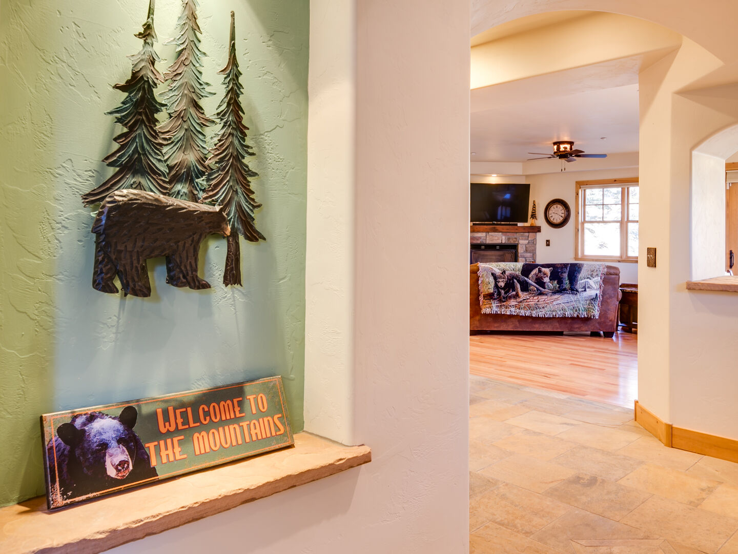 Take a tour with us . . . entryway