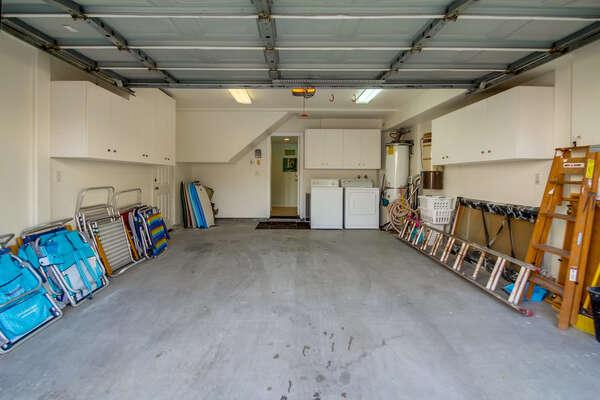 1 Garage parking space