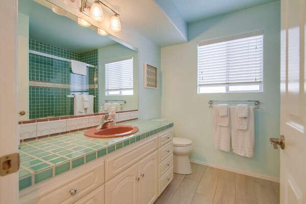 Full Second Floor Guest Bath