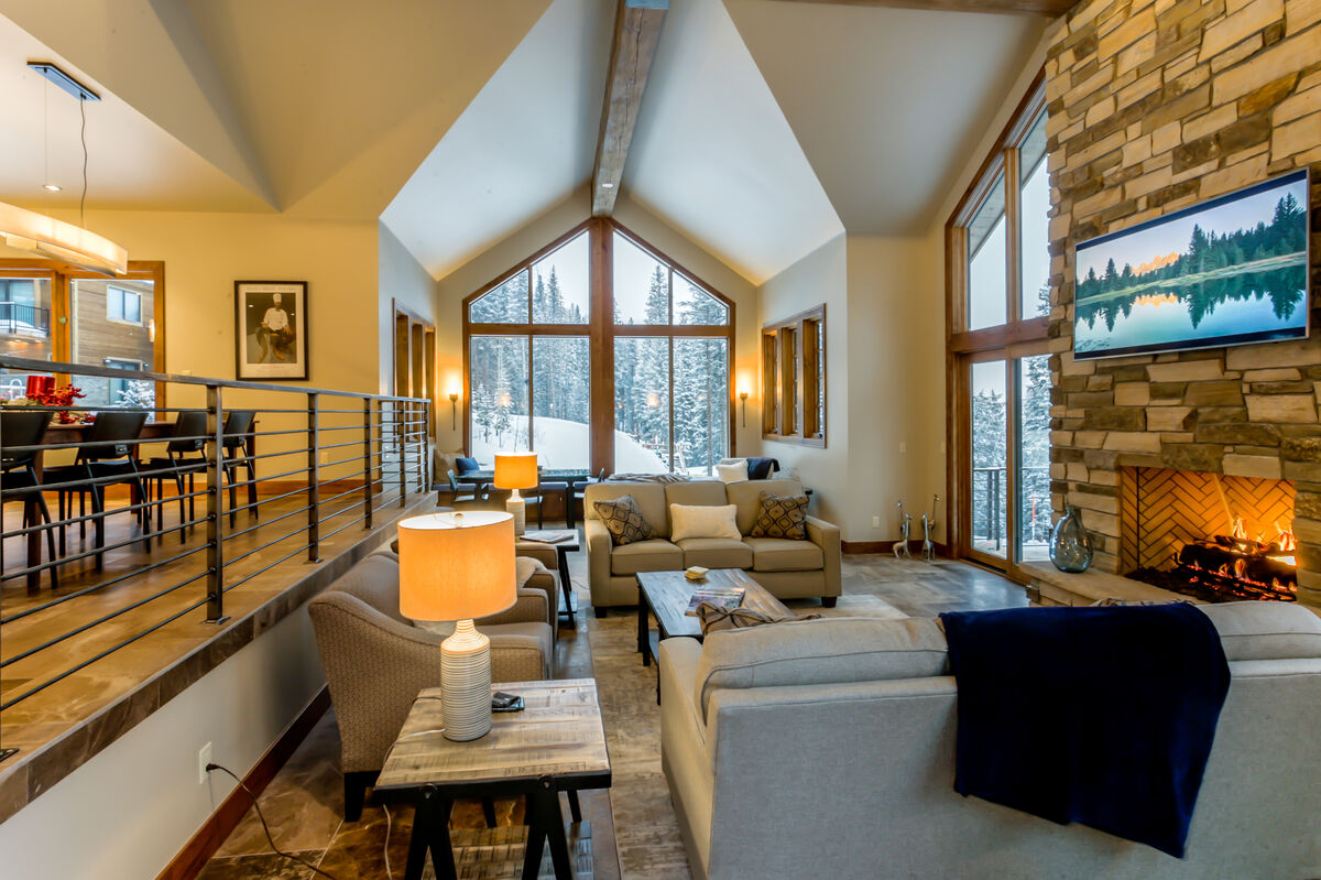 Ski Chalet Interior Design jane's ski chalet - winter park lodging company
