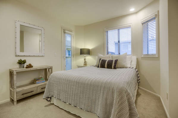 Guest Bedroom with Queen Bed - Lower Level