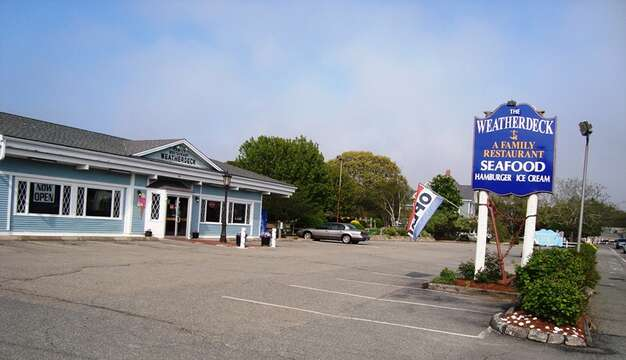 Stop at the Weatherdeck for casual seafood dinner! - West Harwich Cape Cod - New England Vacation Rentals