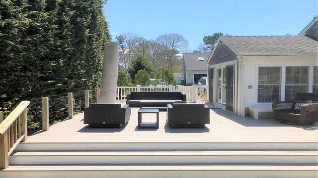 Enjoy the outdoor living - 19 Burton Ave West Harwich Cape Cod - New England Vacation Rentals