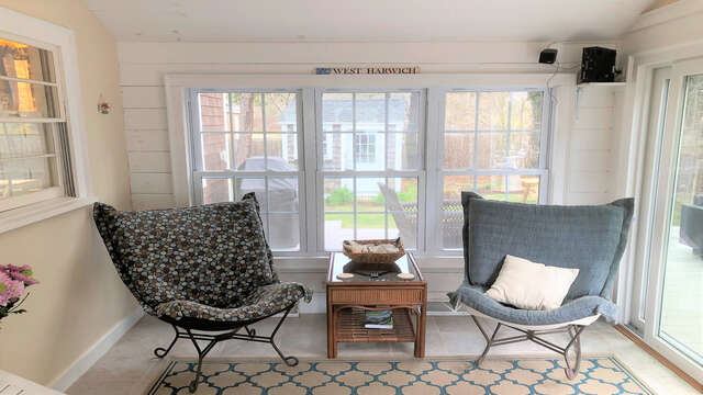 Perfect spot to read a book- 19 Burton Ave West Harwich Cape Cod - New England Vacation Rentals