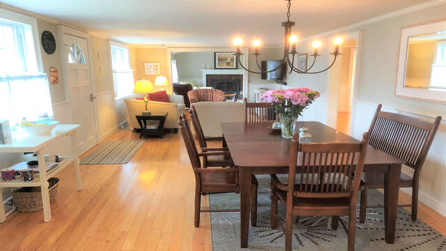 Open living concept - 19 Burton Ave West Harwich Cape Cod - New England Vacation Rentals