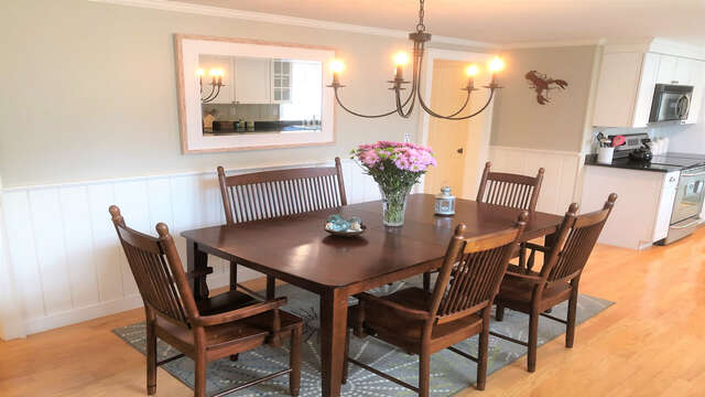 A perfect place to gather together and dine - 19 Burton Ave West Harwich Cape Cod - New England Vacation Rentals