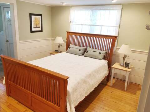 Coastal colors will make you feel happy in this seaside home - 19 Burton Ave West Harwich Cape Cod - New England Vacation Rentals