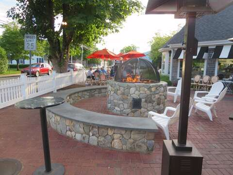 Make sure to go by Ember for the best coal fired pizza, outdoor bar, and firepit every night! - Harwich Port Cape Cod - New England Vacation Rentals