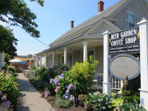 A stop by at the Beer Garden and coffee shop is a must in the Port! - Harwich Port Cape Cod - New England Vacation Rentals