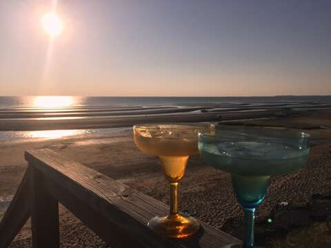 Its 5 O'Clock somewhere! Margarita Time at Bay Dream.  1 Bayberry Lane Eastham Cape Cod - New England Vacation Rentals