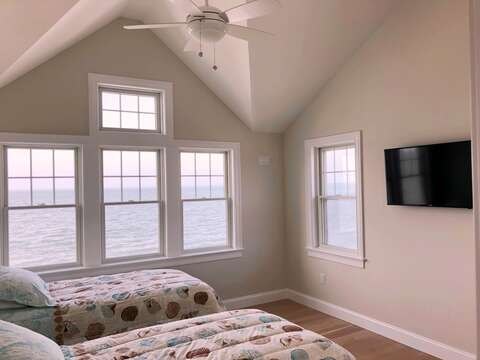Bedroom 3 with 2 Twin beds- 2nd floor-  1 Bayberry Lane Eastham Cape Cod - New England Vacation Rentals