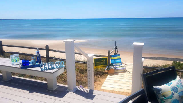 Take the stairway to heaven-1 Bayberry Lane Eastham Cape Cod - New England Vacation Rentals