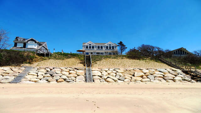 Bay Dream from the beach! Steps to your little piece of heaven-1 Bayberry Lane Eastham Cape Cod - New England Vacation Rentals