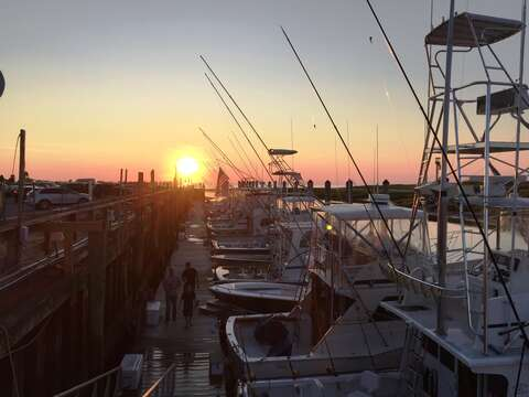 Rock Harbor -Check out the fishing and charter boats- just a few minutes drive from the house in Orleans!   Cape Cod - New England Vacation Rentals