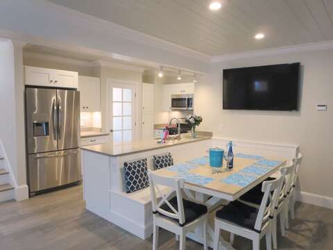 Open dining kitchen area- 1 Bayberry Lane Eastham Cape Cod - New England Vacation Rentals