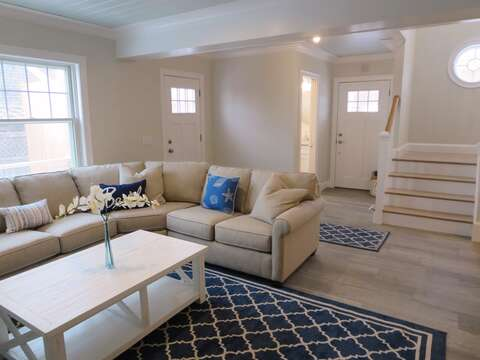 Comfy Living area to enjoy! !  1 Bayberry Lane Eastham Cape Cod - New England Vacation Rentals