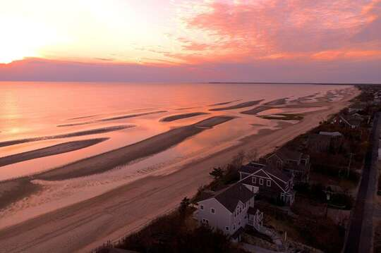 Beauty abounds every day at Bay Dreams!  1 Bayberry Lane Eastham Cape Cod - New England Vacation Rentals