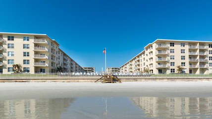 Sea Coast Gardens is centrally located in New Smyrna Beach on the non-driving section of our beach. Miles of sand and surf for your family to explore.