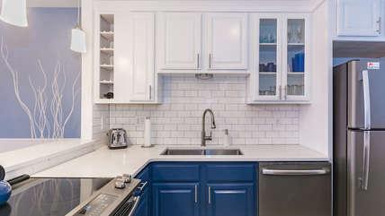 Updated and modern kitchen