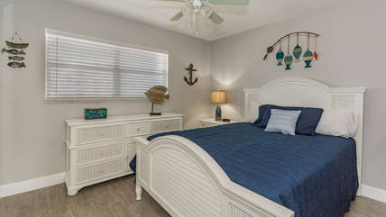 Lots of storage in this fully furnished room.