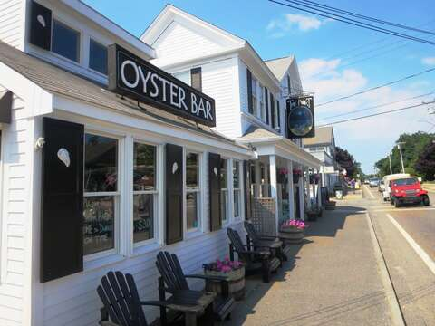 Don't miss $1 oysters at the Oyster Bar at the Port in Harwich Port - Harwich Port Cape Cod - New England Vacation Rentals