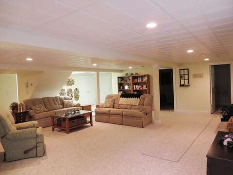 Relax in the lower level - 2 Mashpa Road Harwich Cape Cod - New England Vacation Rentals