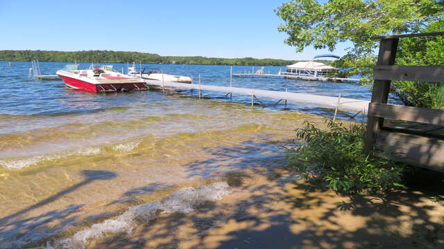 Small Sandy area- clear bottom Lake- Swim the day away! 2 Mashpa Road Harwich Cape Cod - New England Vacation Rentals