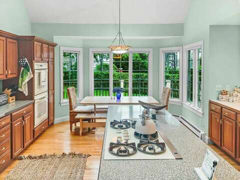 Breakfast nook. Light, bright, and lovely - 2 Mashpa Road Harwich Cape Cod - New England Vacation Rentals