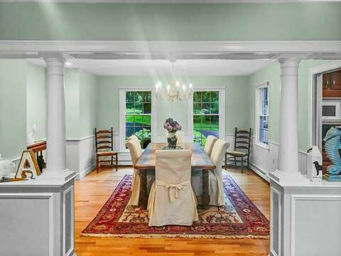 Dining room - 2 Mashpa Road Harwich Cape Cod - New England Vacation Rentals