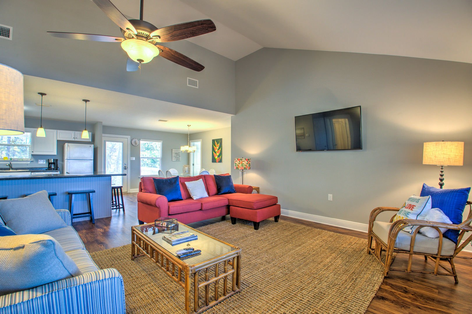 Spacious Living Area is Great for Entertaining.