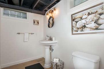 Basement Half Bathroom
