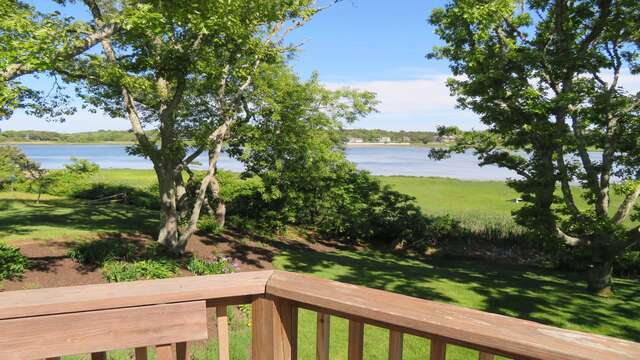 Deck views! 84 Cranberry Lane Chatham Cape Cod - New England Vacation Rentals