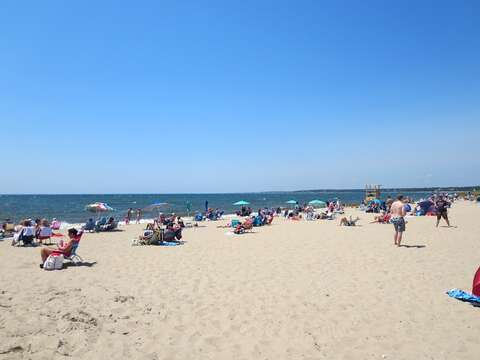 Hardings Beach is the next public beach over with sandy shores and warmer water great for swimming! - Chatham Cape Cod - New England Vacation Rentals