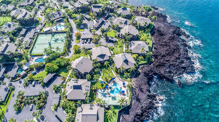 Ariel View of Kanaloa at Kona