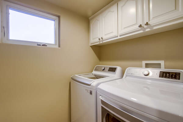 In-Home Laundry on 2nd Floor of CAPISTRANO818