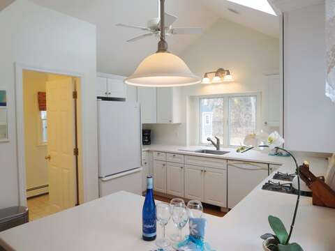 Large open kitchen offers plenty of space to prepare a meal - 142 George Ryder Road S Chatham Cape Cod - New England Vacation Rentals