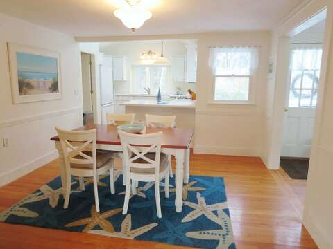 Open and airy living. Dining is open to kitchen - 142 George Ryder Road S Chatham Cape Cod - New England Vacation Rentals