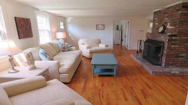 ANother View of the living room - 142 George Ryder Road S Chatham Cape Cod - New England Vacation Rentals
