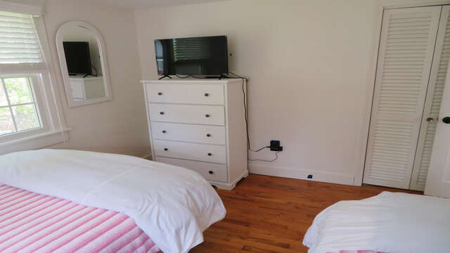And a flat screen TV-142 George Ryder Road S Chatham Cape Cod - New England Vacation Rentals
