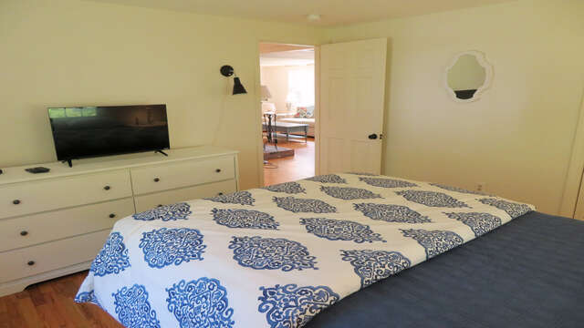 And flat Screen TV - 142 George Ryder Road S Chatham Cape Cod - New England Vacation Rentals