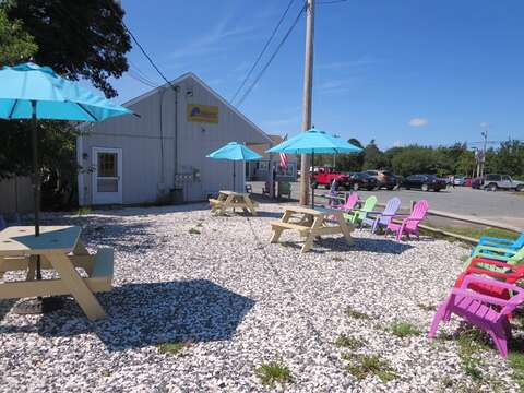 Stop at Chillers for an Italian ice on your way to the Beach! On the corner of Barn Hill Road and Rte. 28. - Chatham Cape Cod - New England Vacation Rentals