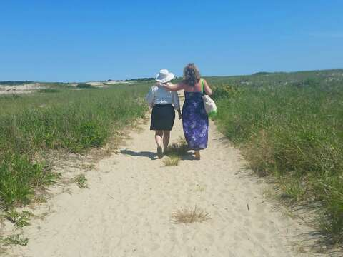 Don't miss the dune walk at the second entrance of Hardings Beach! Bring your furry friend along too as pets on leashes welcome all year! - Chatham Cape Cod - New England Vacation Rentals