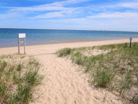 Monomoy Wildlife Refuge in Chatham has beautiful walking paths and a soft, sandy beach.-Chatham Cape Cod - New England Vacation Rentals